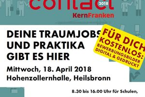 "Ausbildungsbörse ""Contact Kernfranken"" am 18. April 2018"